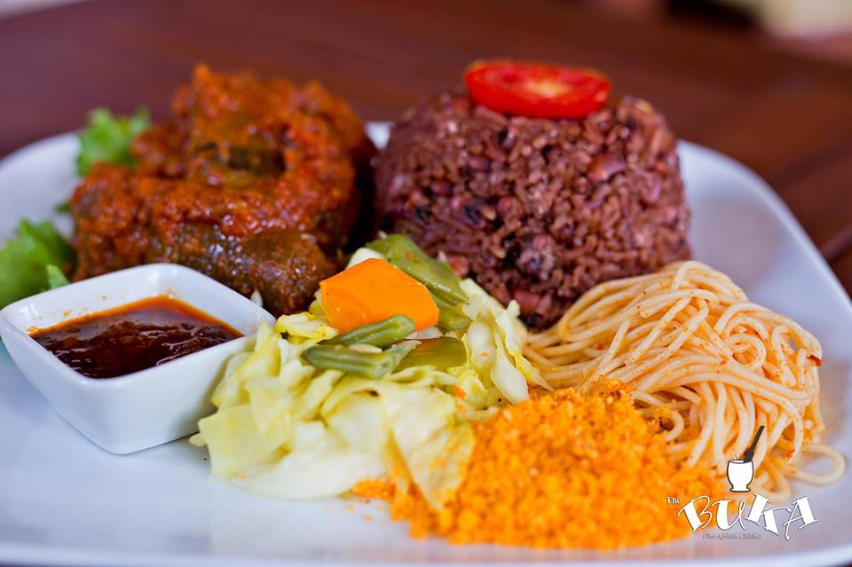 Buka Restaurant North Ridge Accra