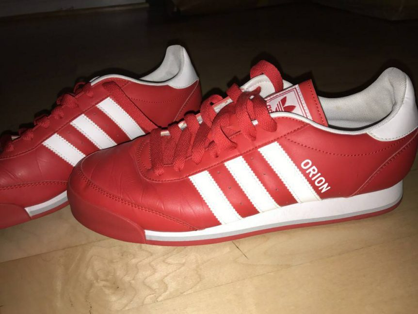 Red Adidas Orion Shoes