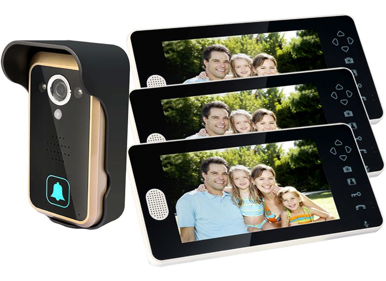 7 Inch Wireless Video Door Phone
