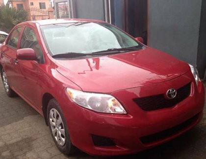 Neatly Used Toyota Corolla 2010 For Sale