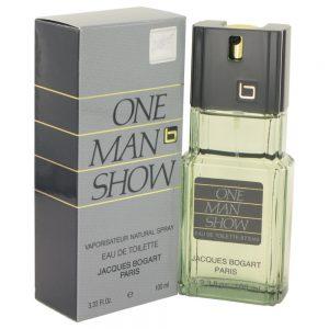 One Man Show By Jacques Bogart Eau De Toilette Spray 3.3 Oz For Men #400084