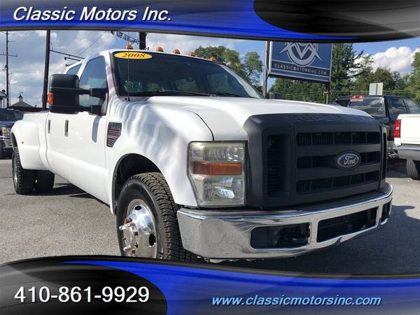2008 Ford F-350 Crew Cab XL DRW 4X2  SOUTHERN TRUCK!!!   LOW MILES!!
