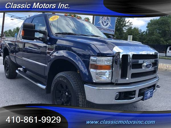 2008 Ford F-350 EXT CAB LARIAT 4X4  LOW MILES!!!!!