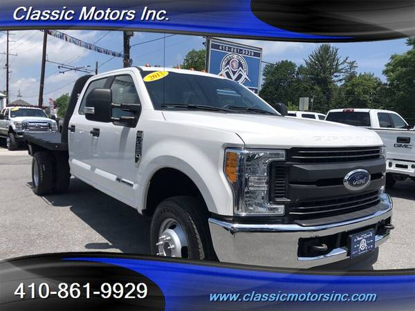 2017 Ford F-350 Super Duty XL 4X4 Flat Bed  1-OWNER!!!  FLAT BED!!!