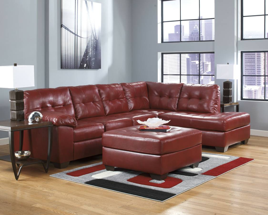 Leather Sectional by Ashley Furniture Available in 3 Colors