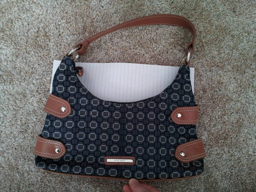 Nine West Denim Purse and Coin Purse