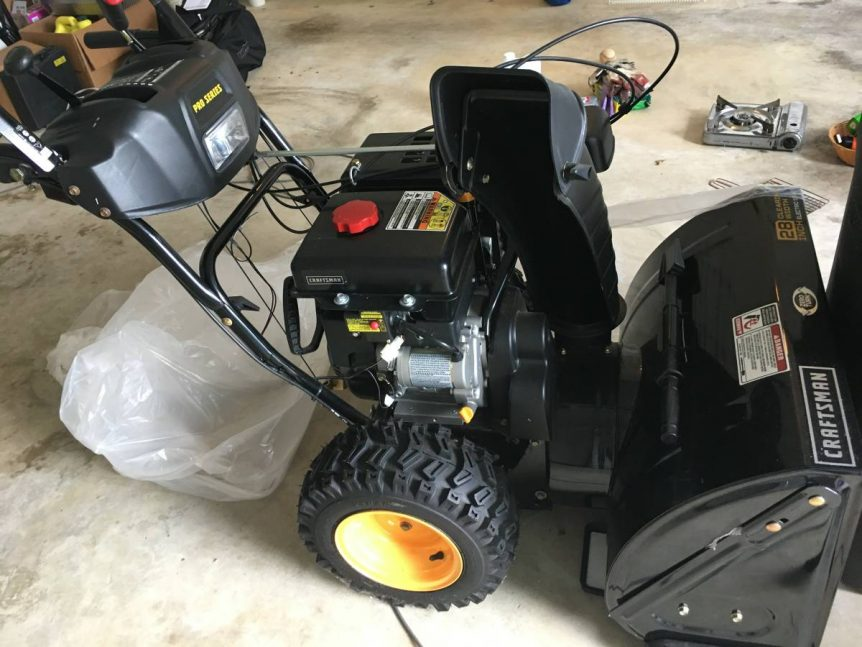 Snow Blower-Craftsman Proseries 28 inch.