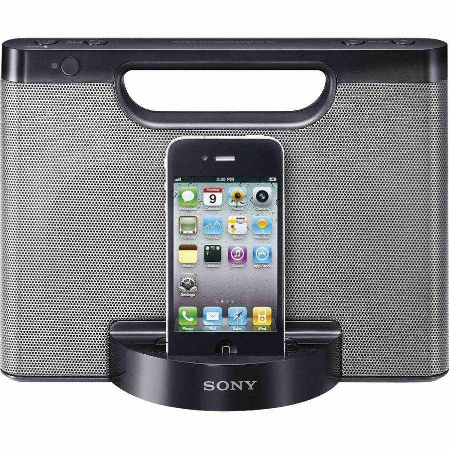 Sony RDPM5IP 30-Pin iPhone/iPod Portable Speaker System With Remote